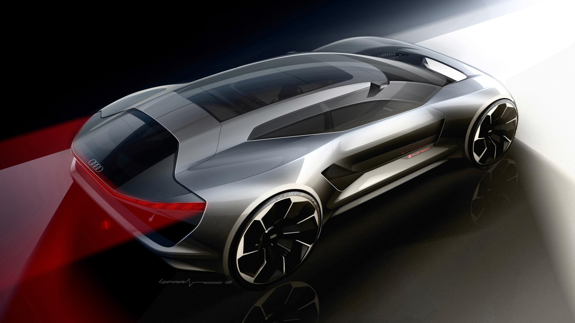 Bmw North America >> Audi PB18 e-tron Concept is a 670 hp all-electric rocket ...