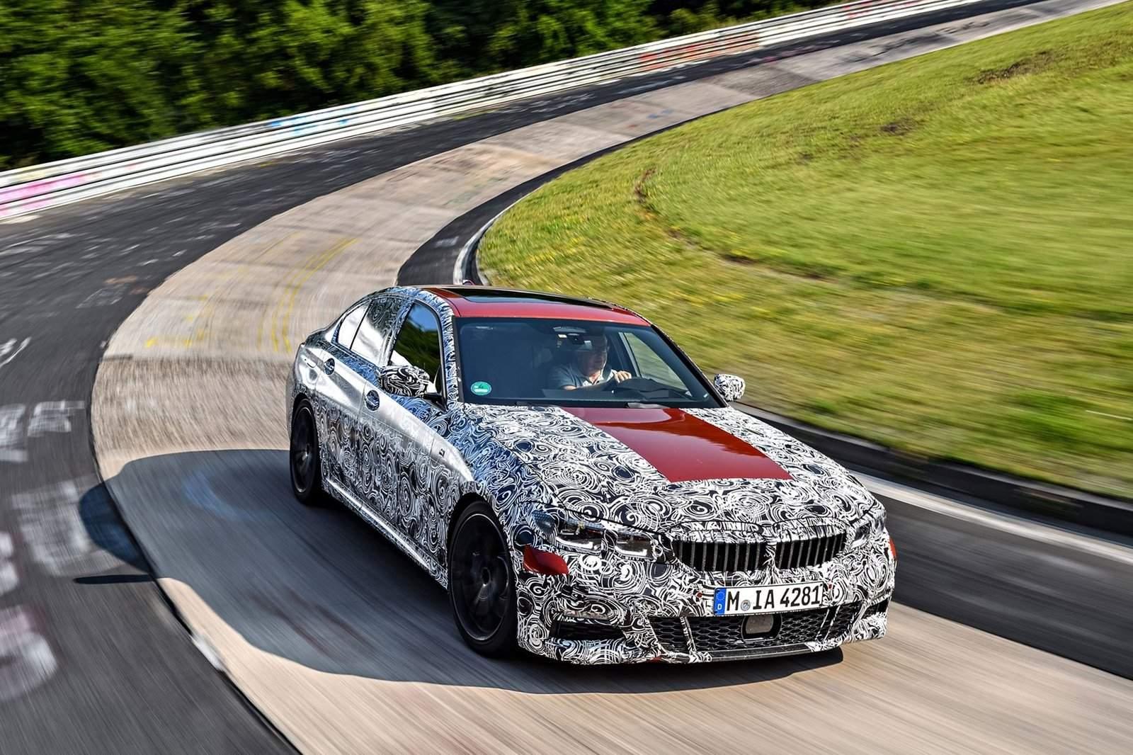 BMW 3 Series pre drive