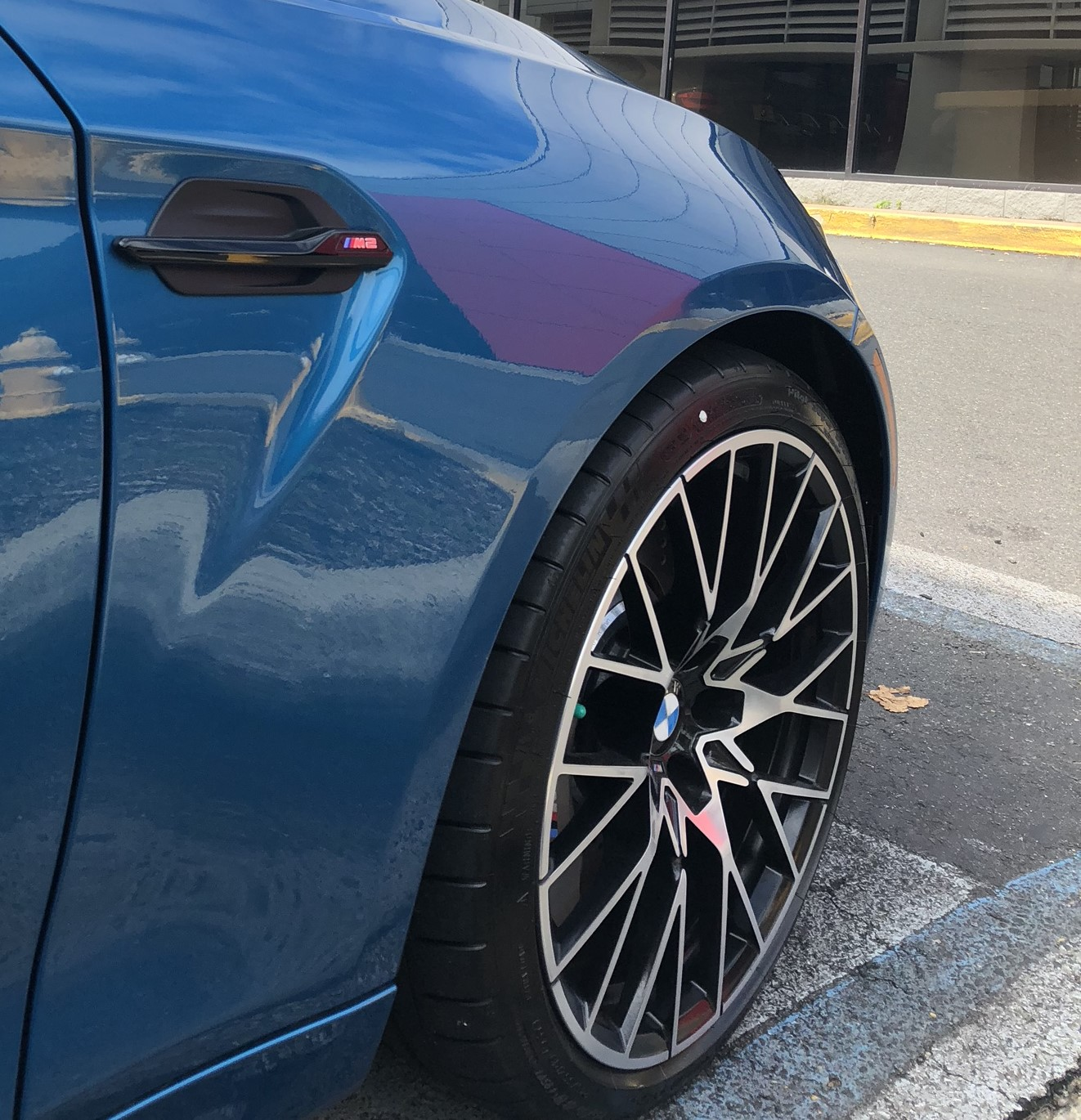 BMW M2 Competition In Long Beach Blue Gets Delivered To US