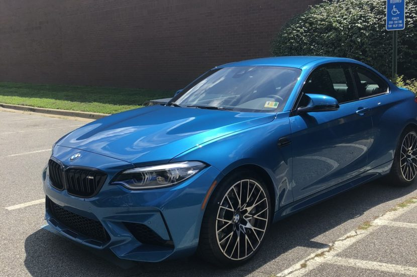 Bmw M2 Competition In Long Beach Blue Gets Delivered To Us Customer
