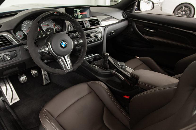 BMW M4 San Marino Blue M Performance Parts 15 of 35 830x553