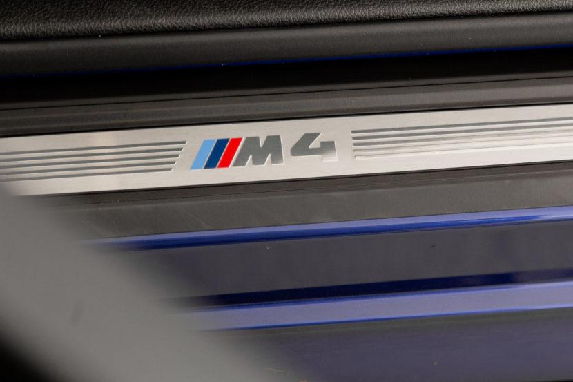 BMW M4 San Marino Blue M Performance Parts 32 of 35 830x553
