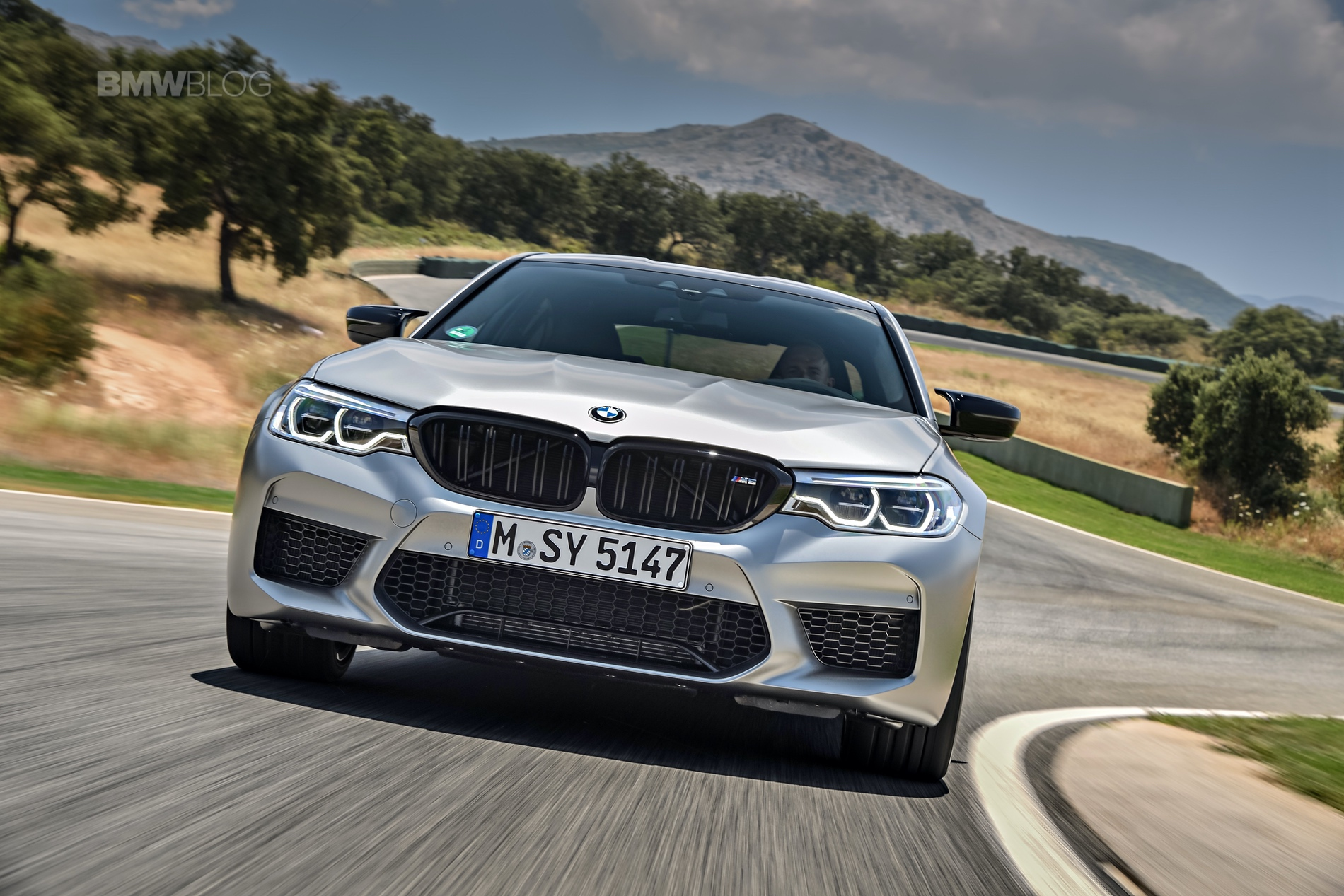 BMW M5 Competition test drive1