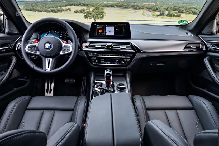 BMW M5 Competition test drive108 830x553