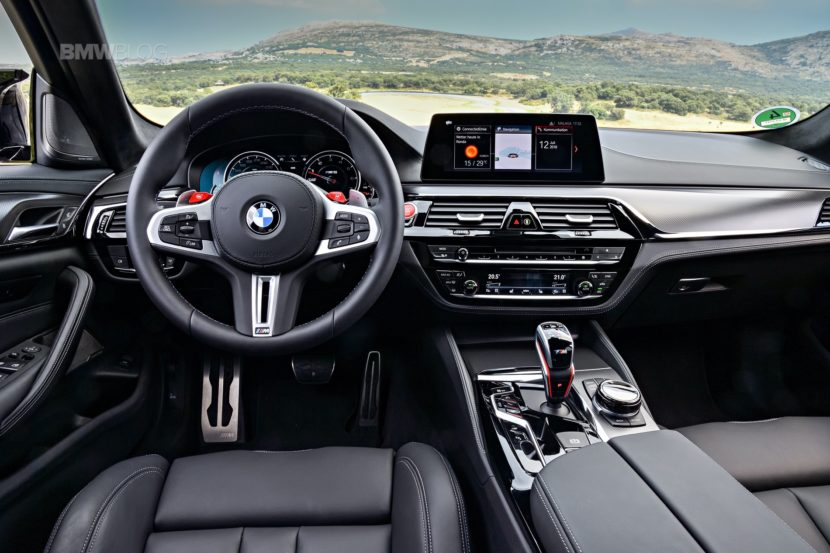 BMW M5 Competition test drive109 830x553
