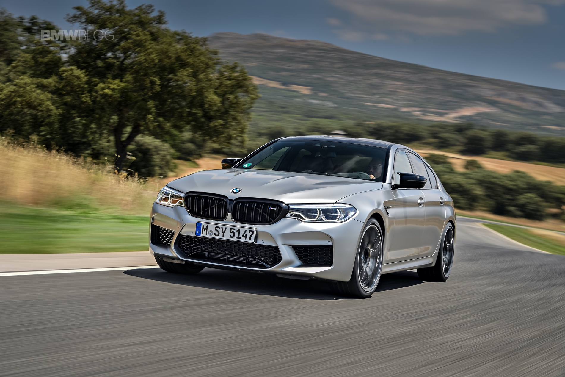 BMW M5 Competition test drive12