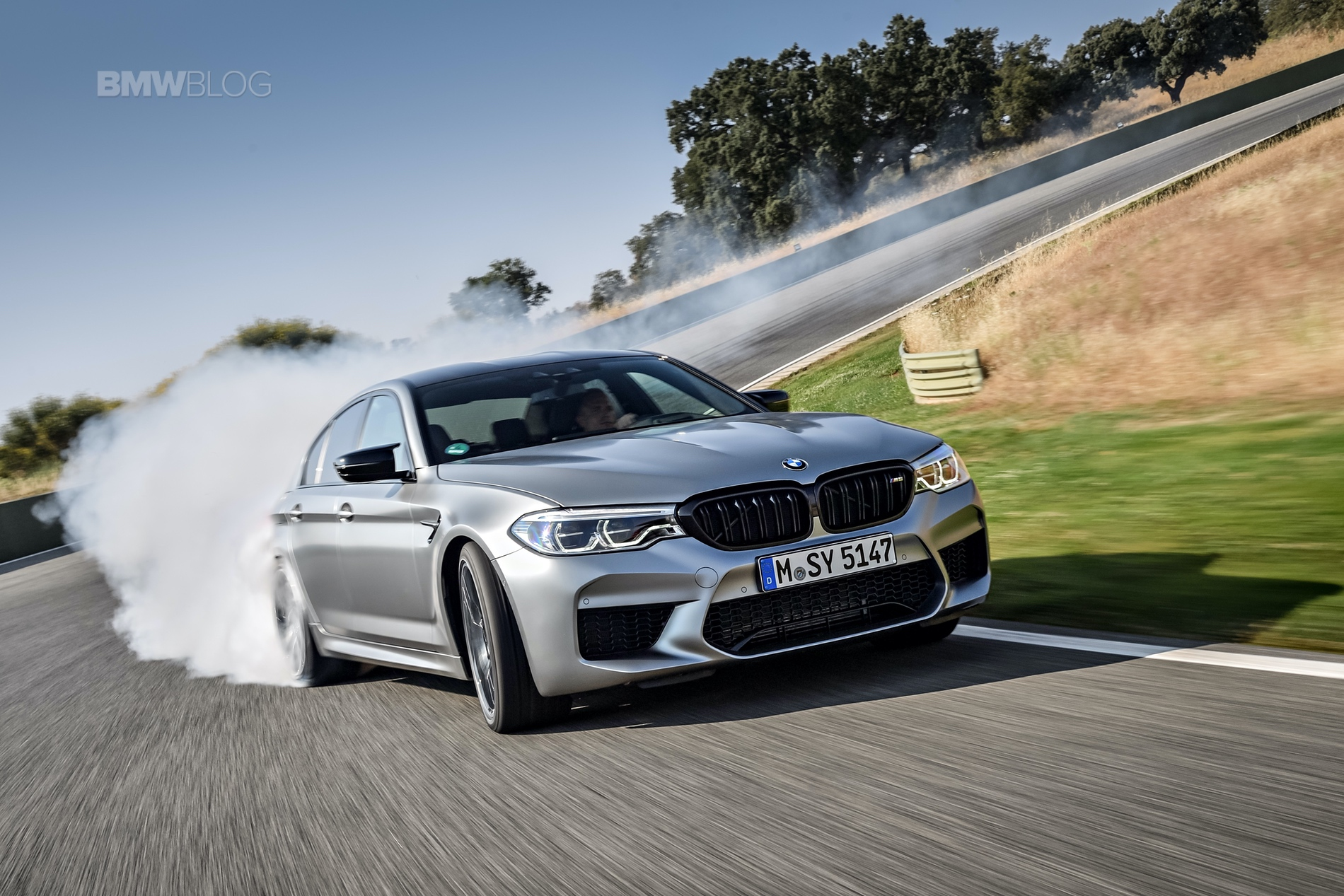 BMW M5 Competition test drive33