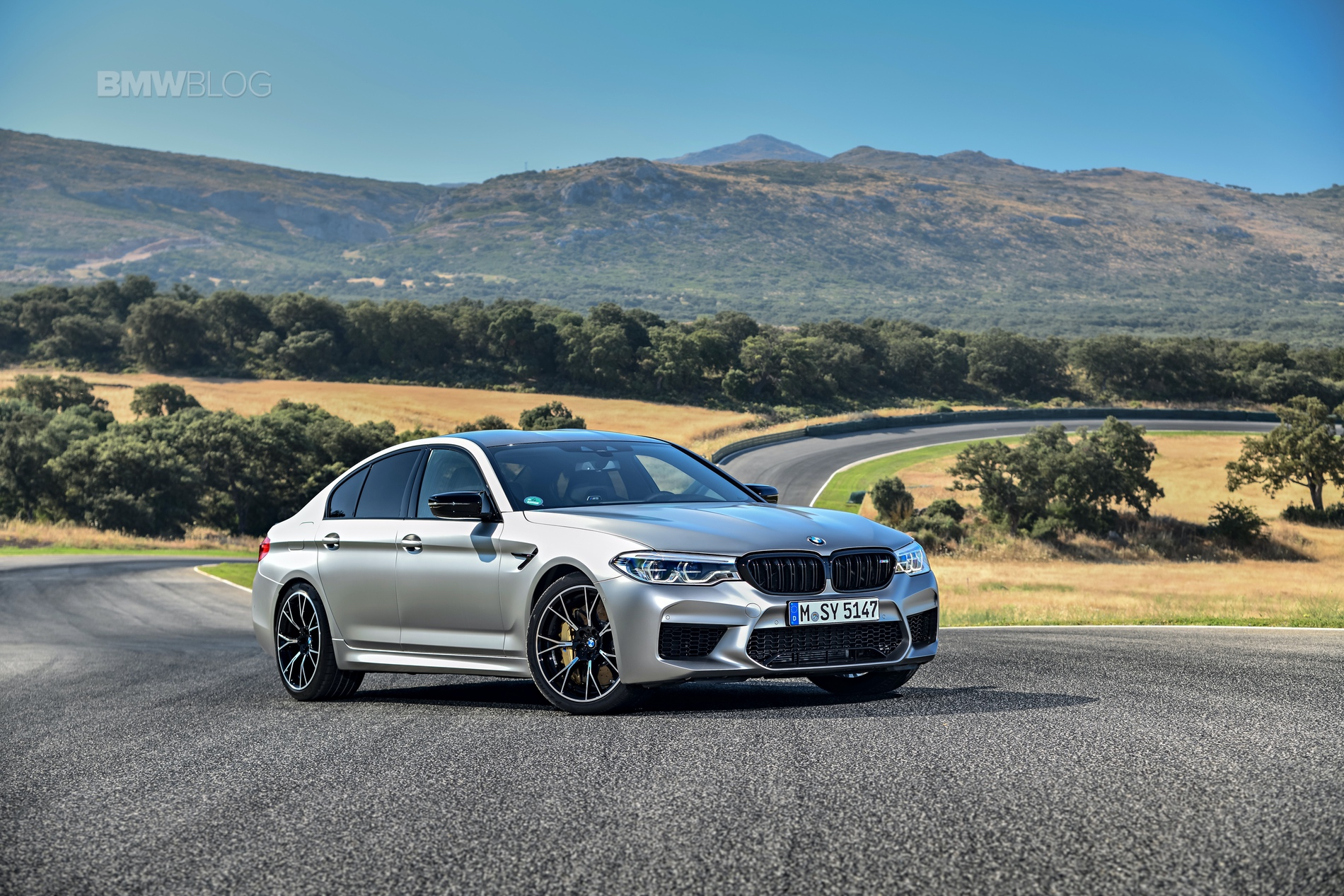BMW M5 Competition test drive38