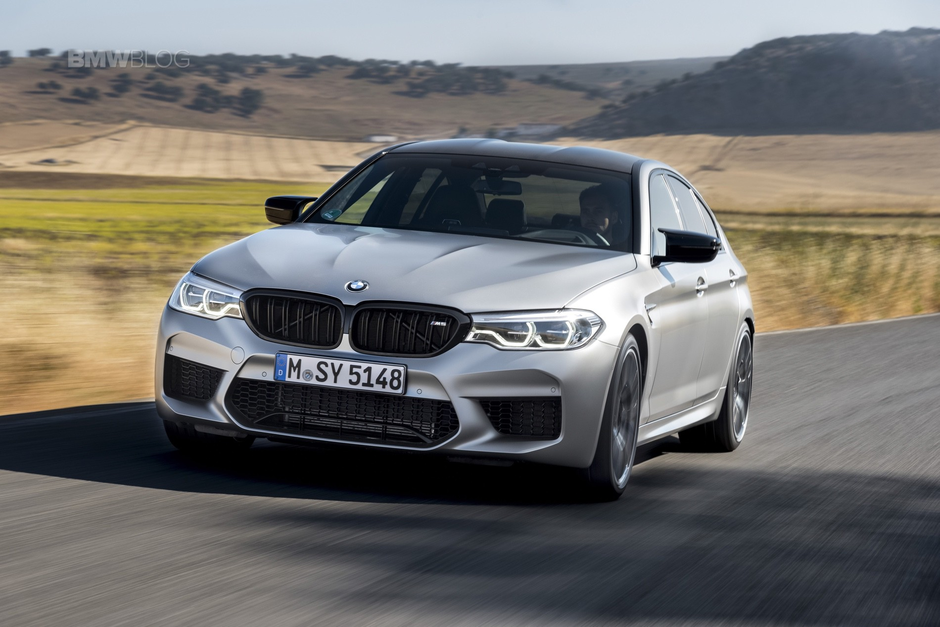 BMW M5 Competition test drive51