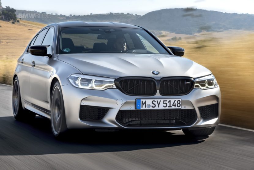 BMW M5 Competition test drive55 830x554
