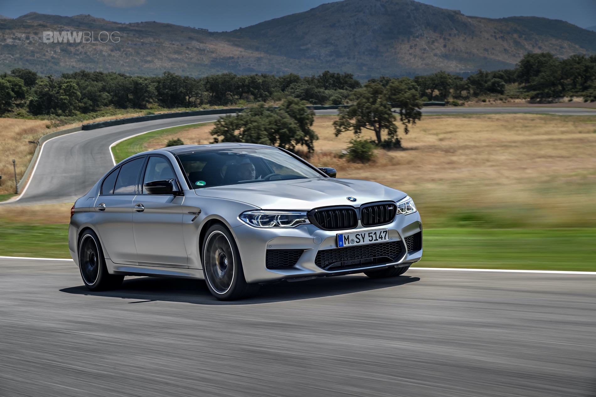 BMW M5 Competition test drive6
