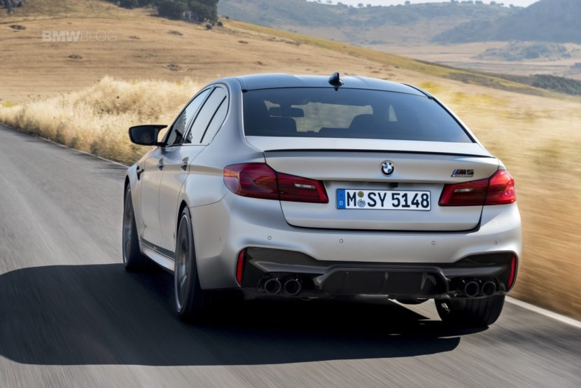 BMW M5 Competition test drive60 830x554