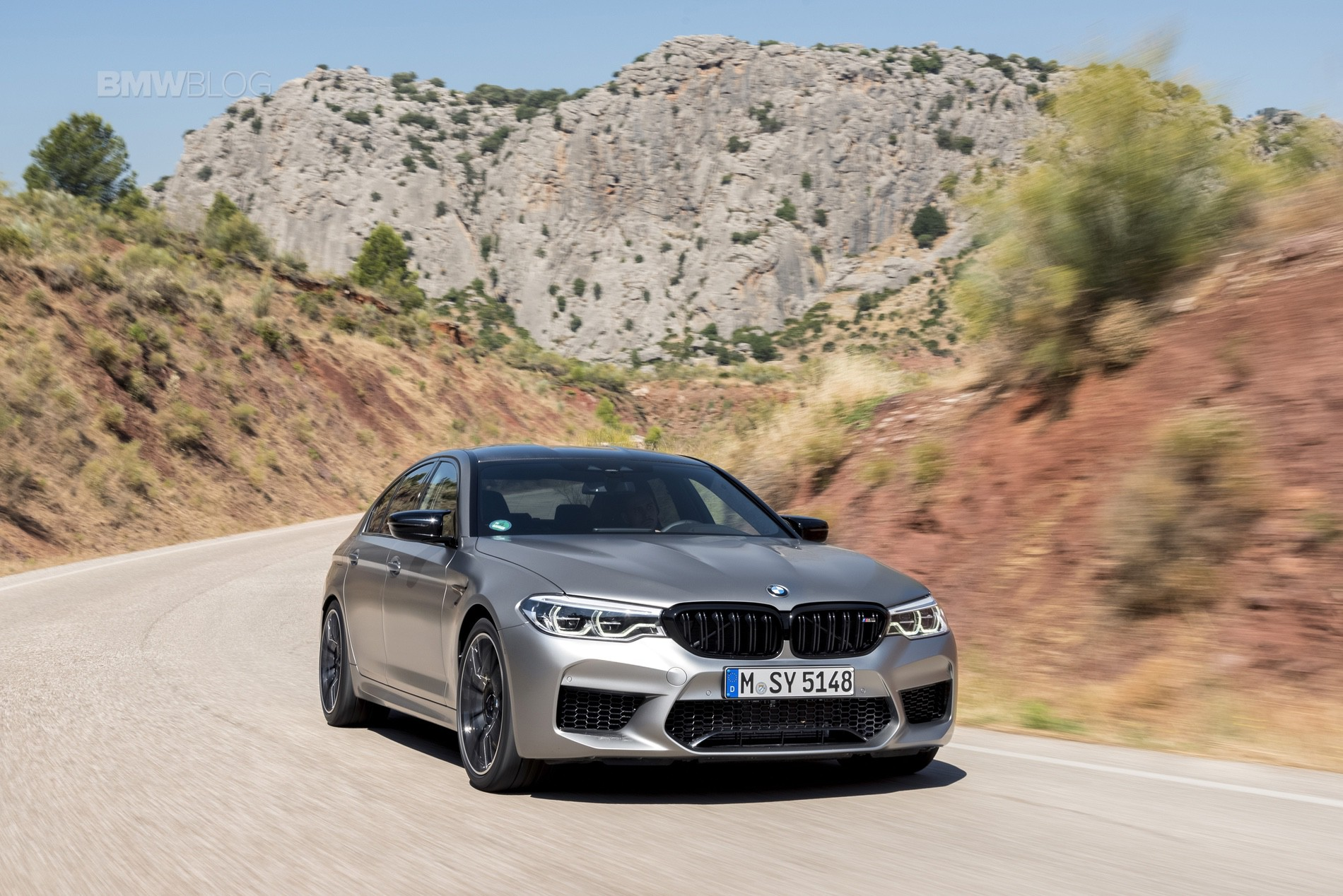 BMW M5 Competition test drive68