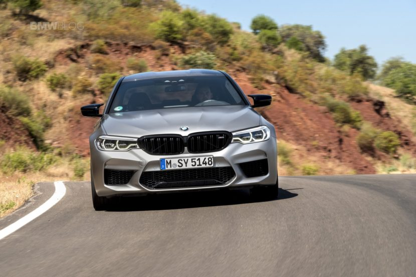 BMW M5 Competition test drive70 830x554