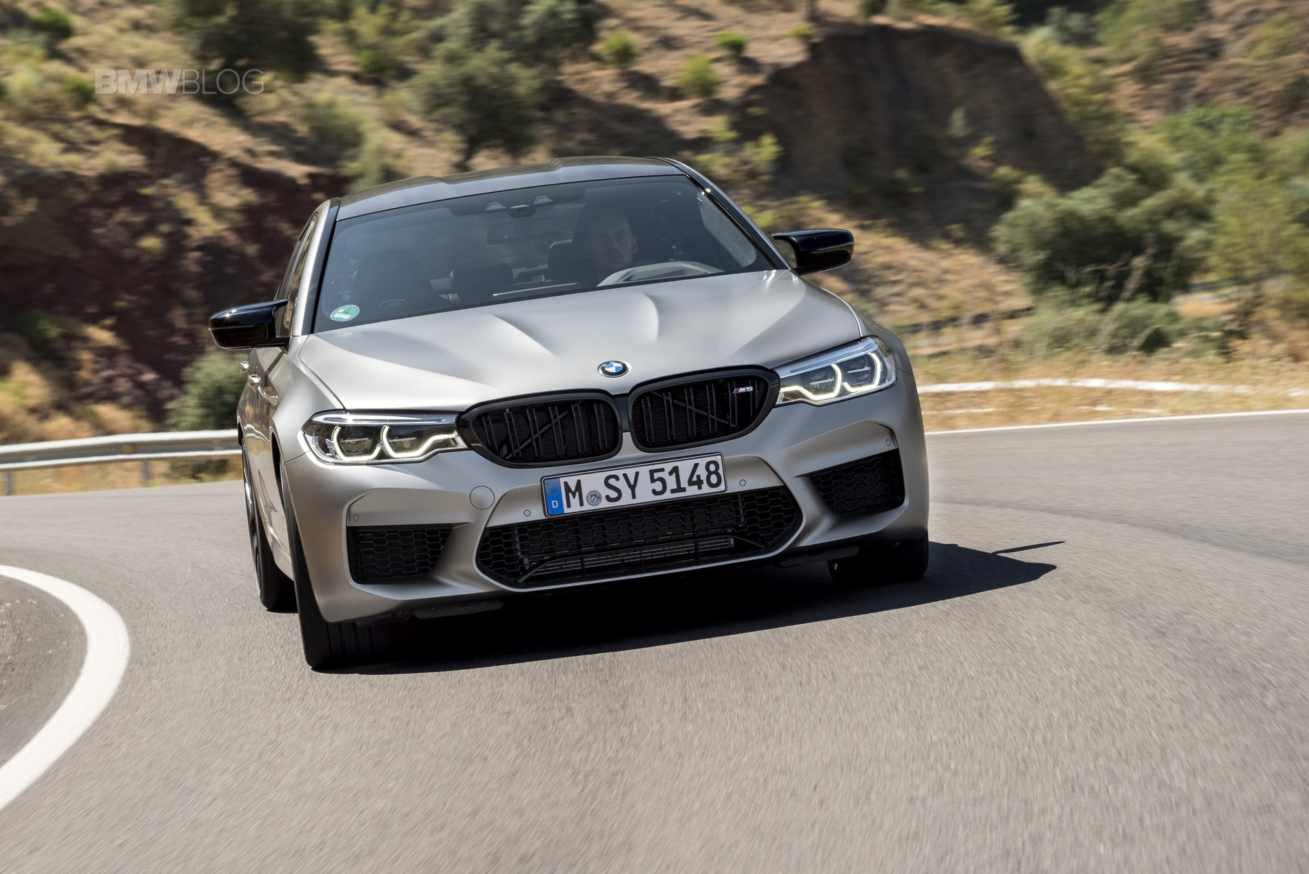 BMW M5 Competition test drive72