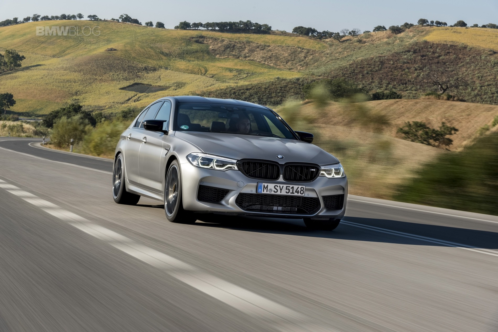 BMW M5 Competition test drive82