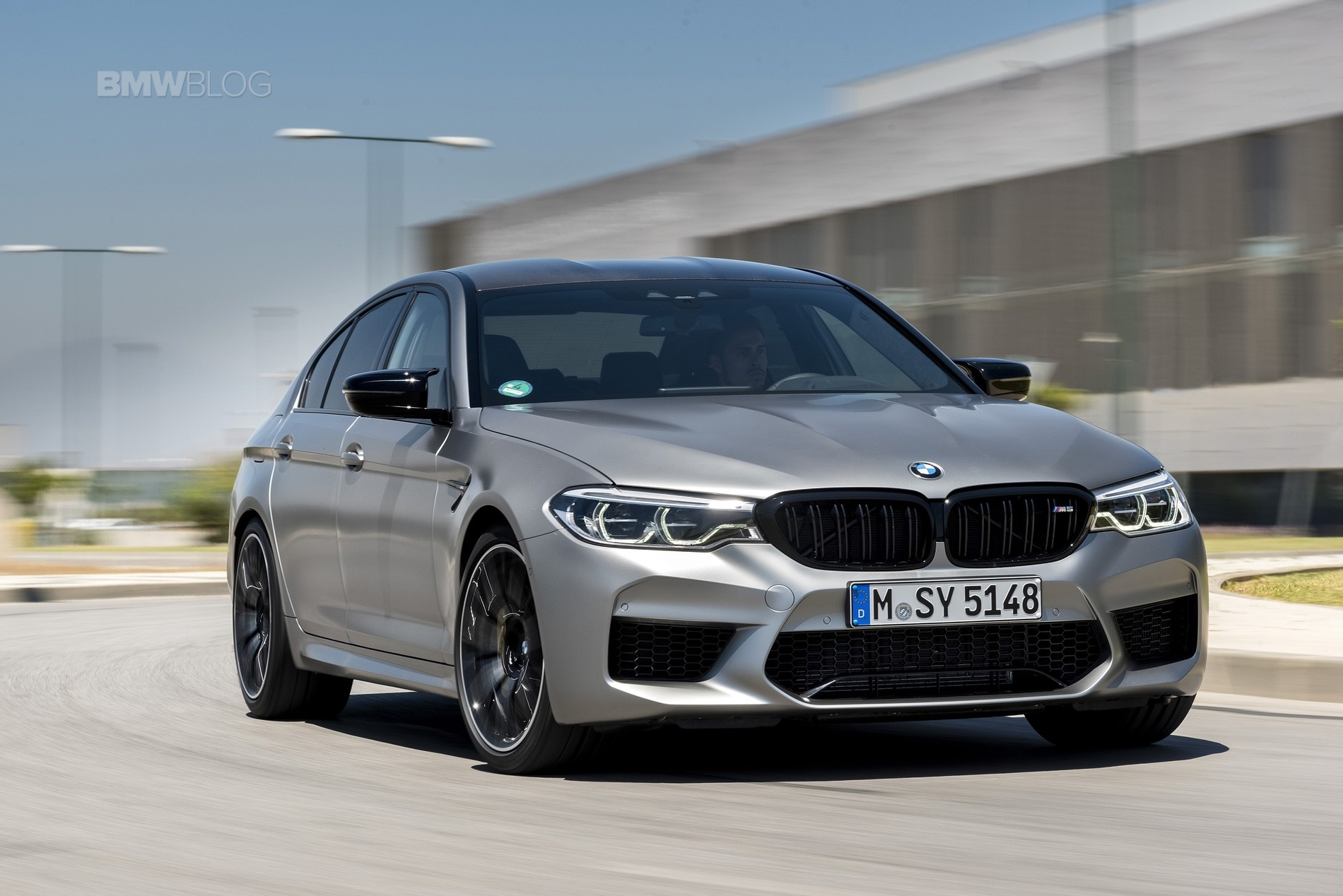 BMW M5 Competition test drive83