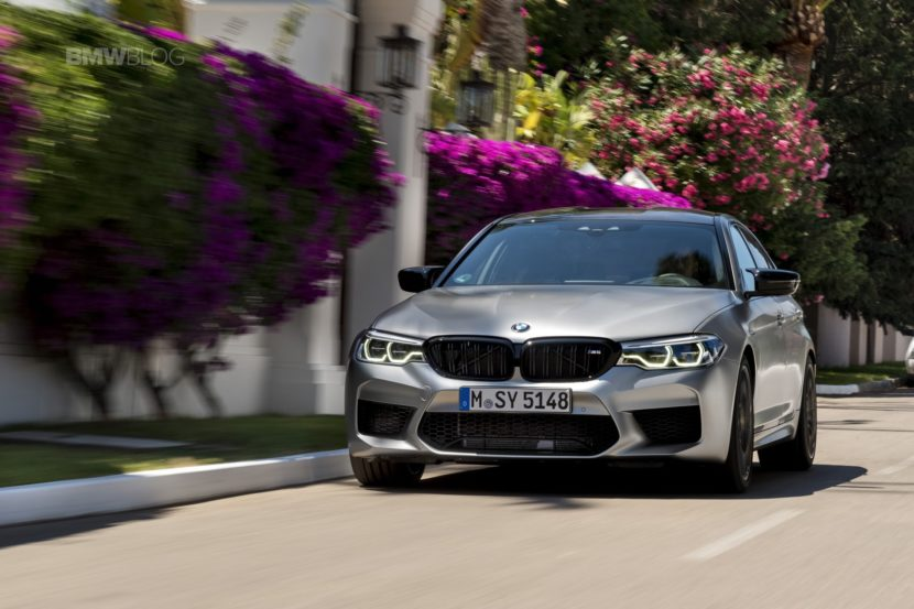 BMW M5 Competition test drive88 830x553