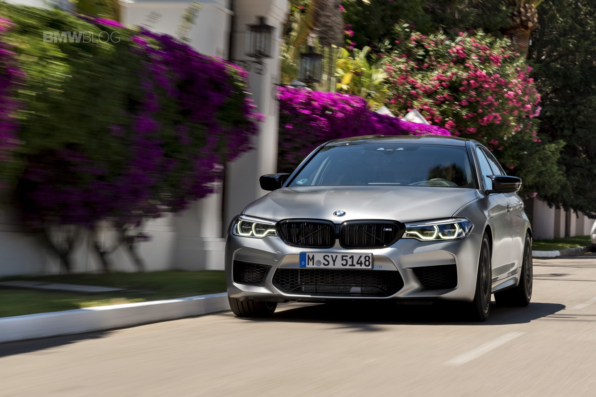 BMW M5 Competition test drive88
