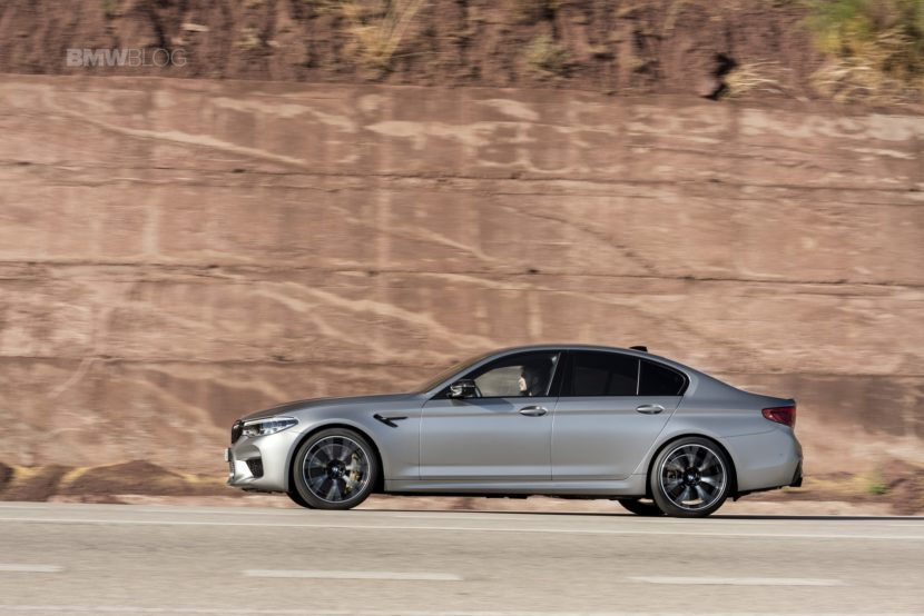 BMW M5 Competition test drive89 830x554