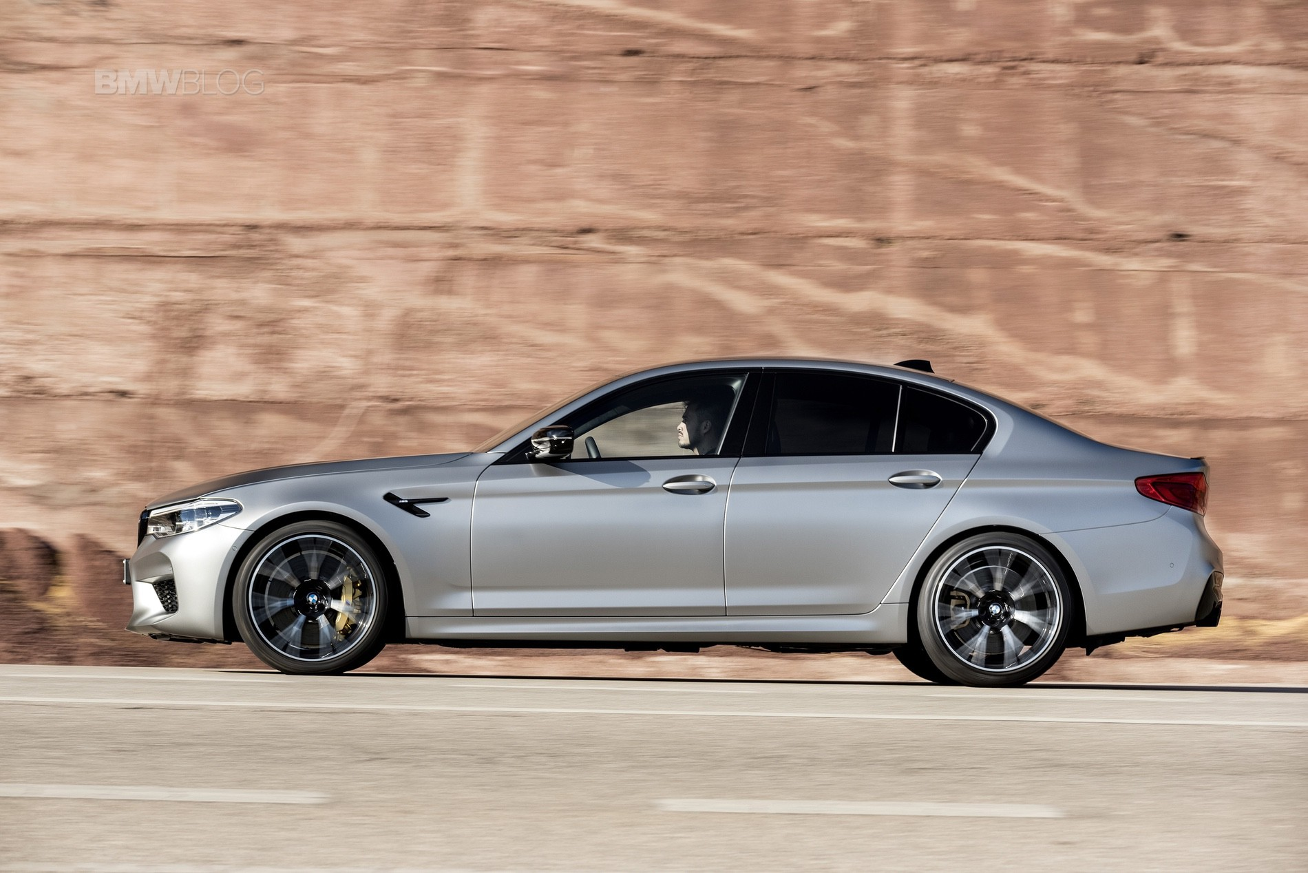 BMW M5 Competition test drive91