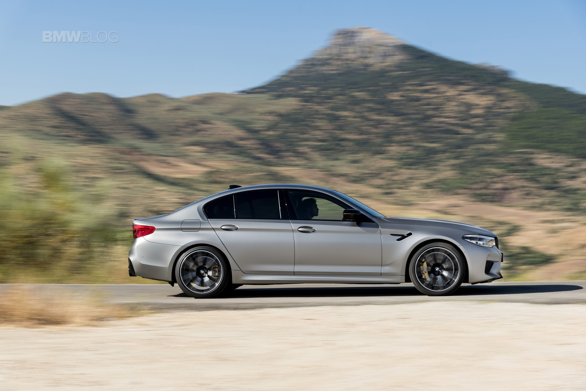 BMW M5 Competition test drive93
