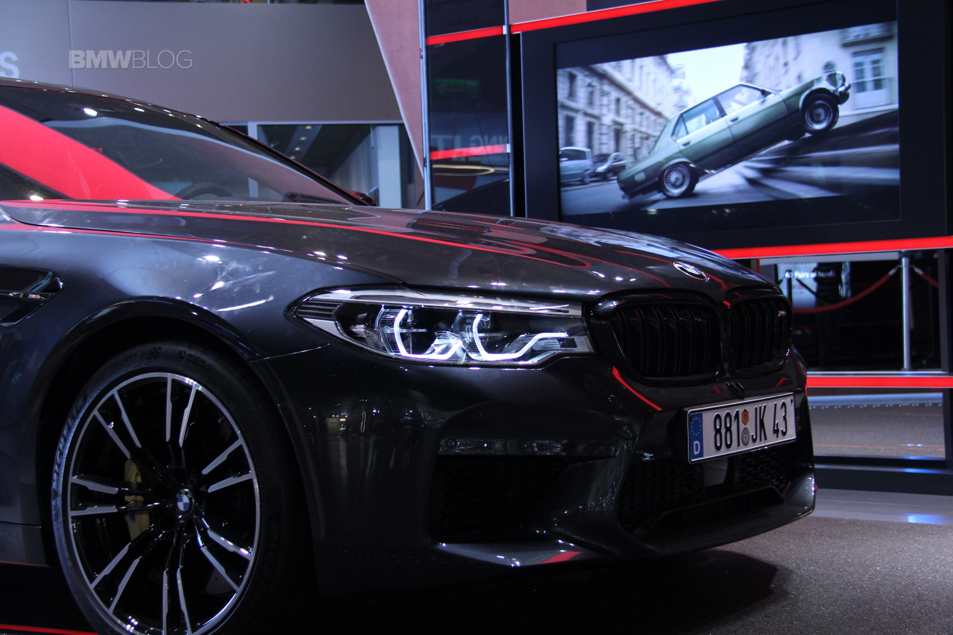 Bmw Welt Presents Mission Impossible Fallout Display With The All New M5