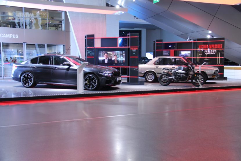 BMW M5 Mission Impossible BMW Welt6 830x553