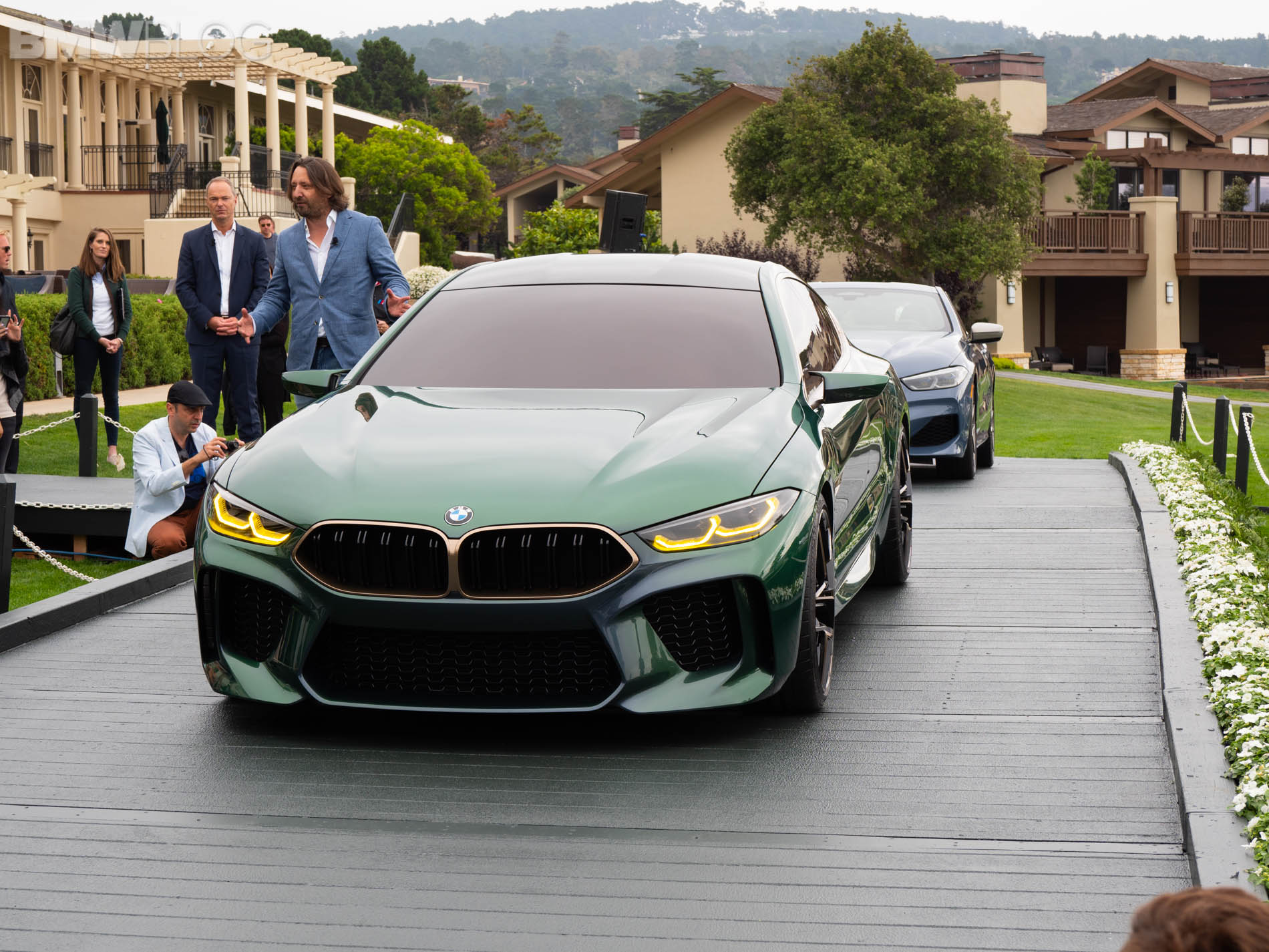 BMW M8 Gran Coupe Concept Pebble Beach 1