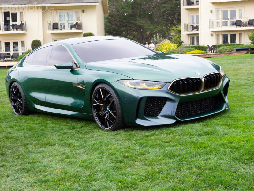 Pebble Beach 2018 Bmw M8 Gran Coupe Concept Make Us Debut