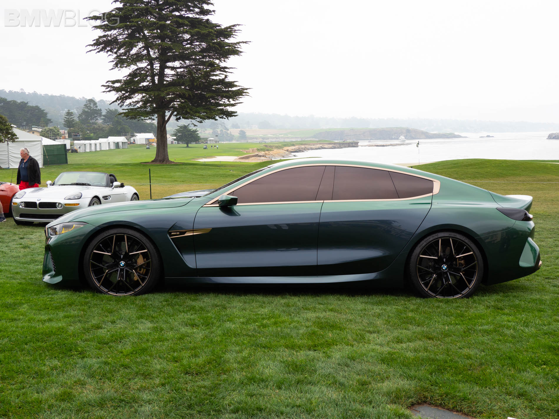 BMW M8 Gran Coupe Concept Pebble Beach 24