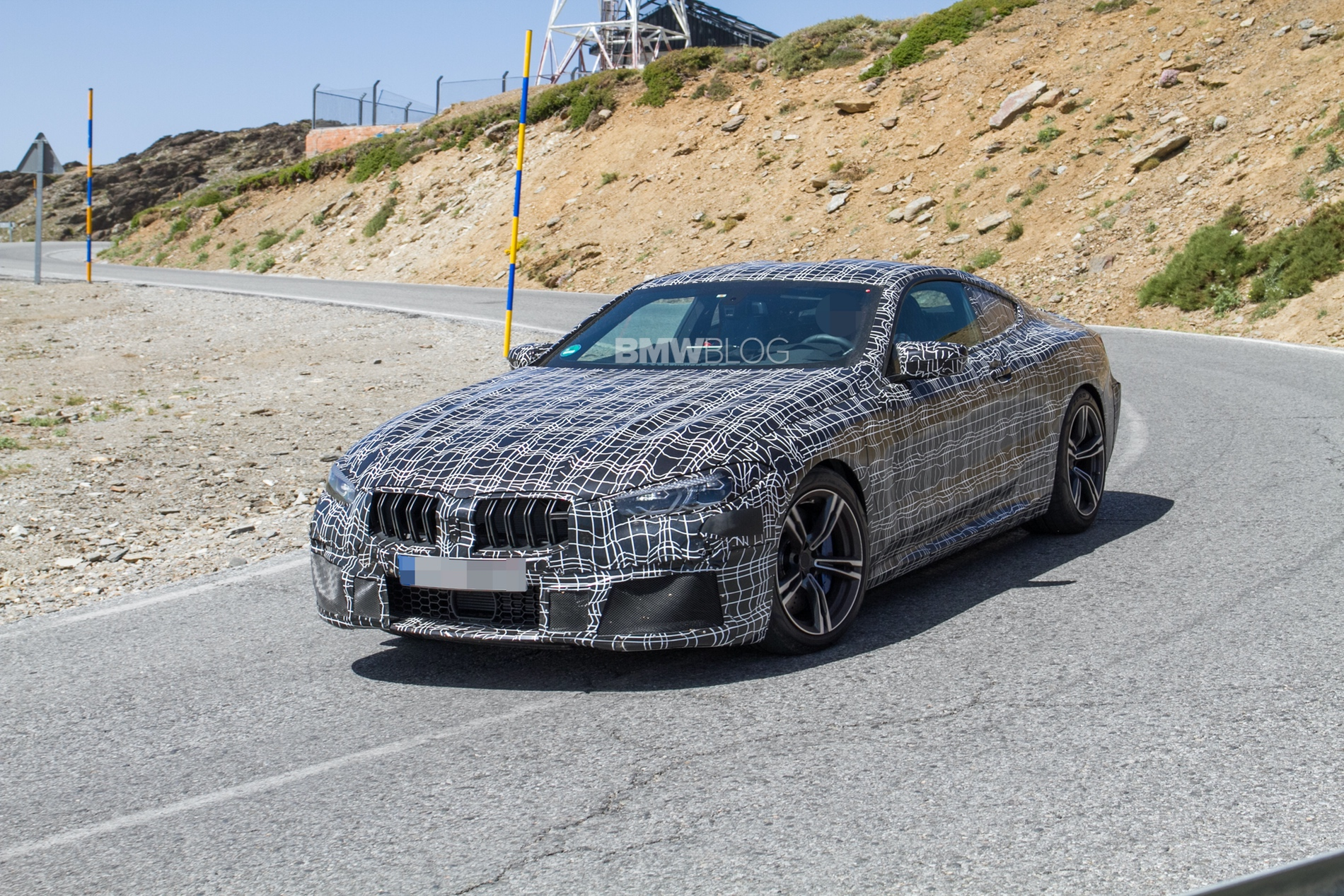 BMW M8 prototype1 1