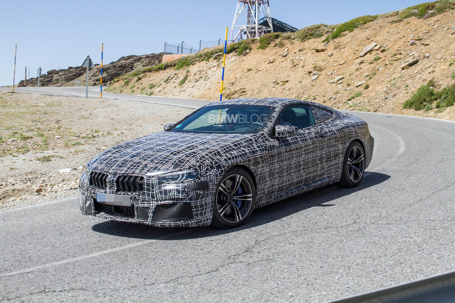 BMW M8 prototype2 1