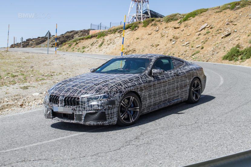 BMW M8 spied 20182 830x553