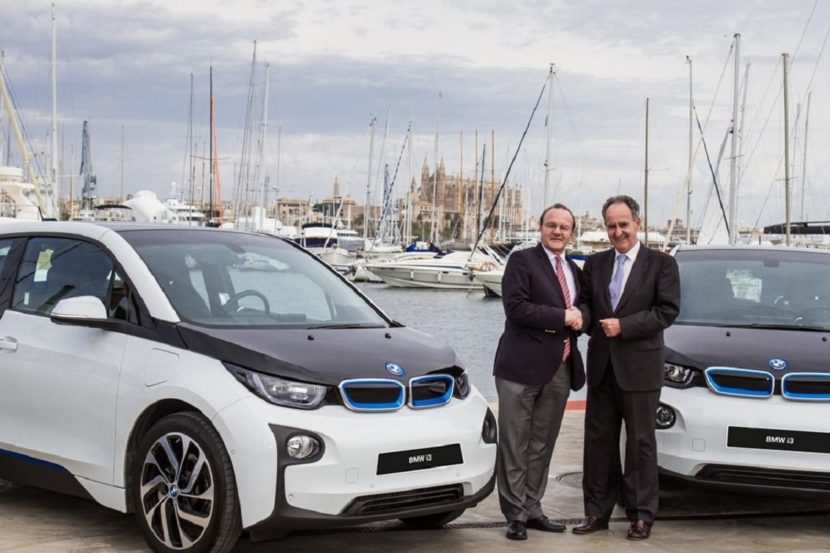 BMW Mallorca charging 830x553