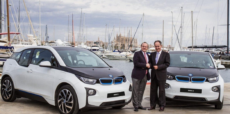 BMW Mallorca charging