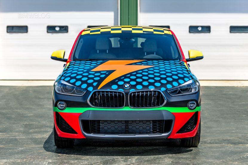 BMW X2 art car wrap5 830x553