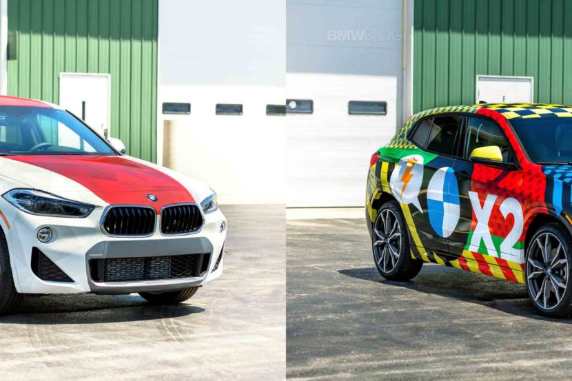 BMW X2 wrap winners 830x553