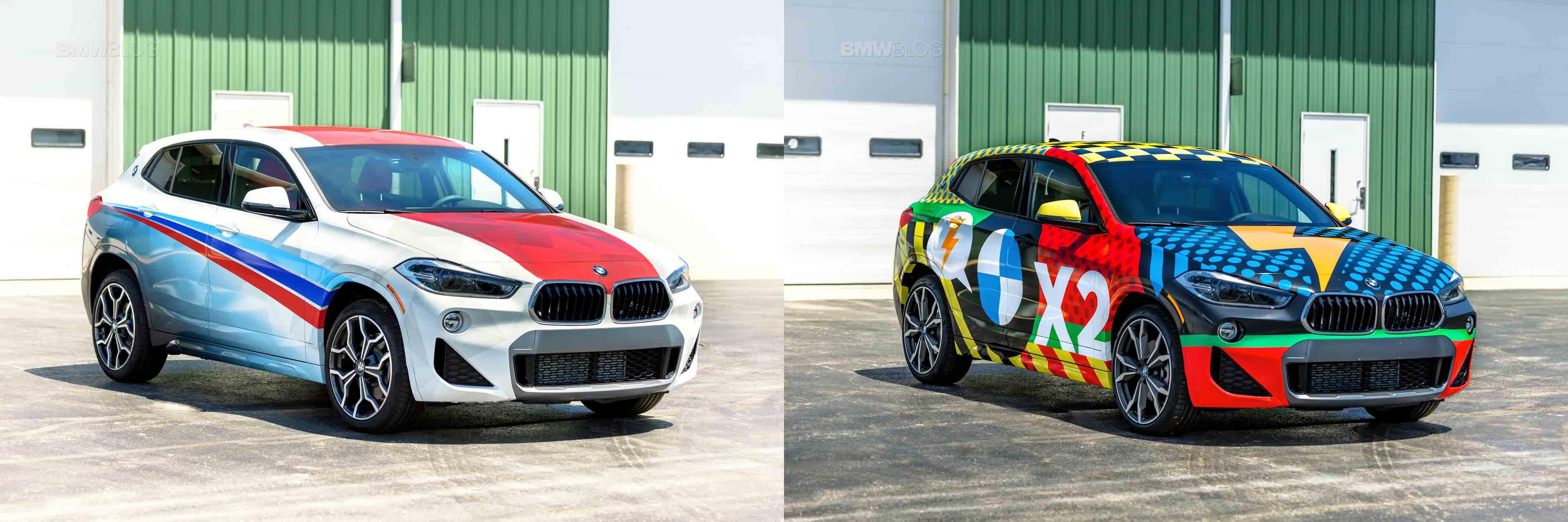 BMW X2 wrap winners