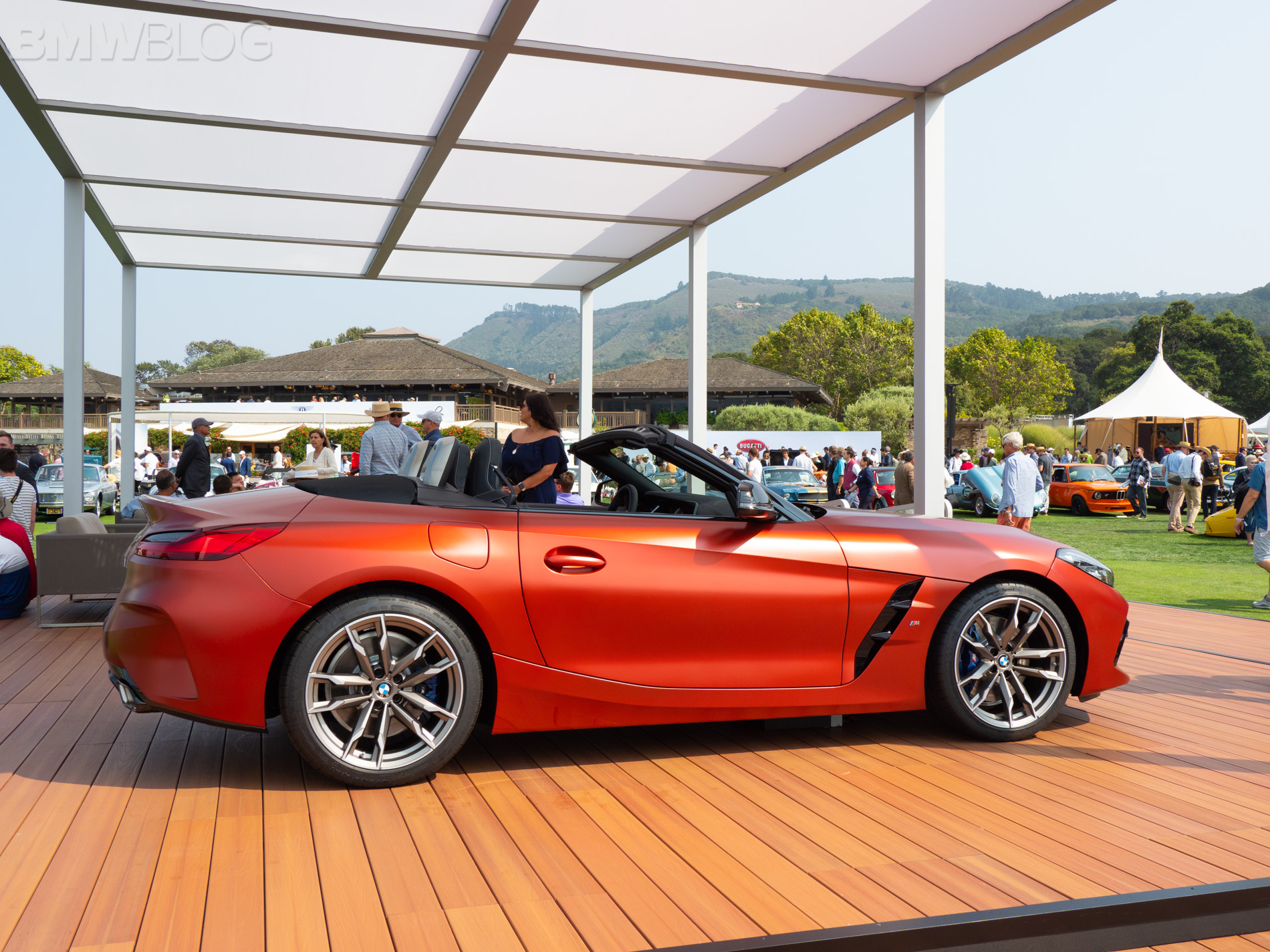 BMW Z4 Pebble Beach 18