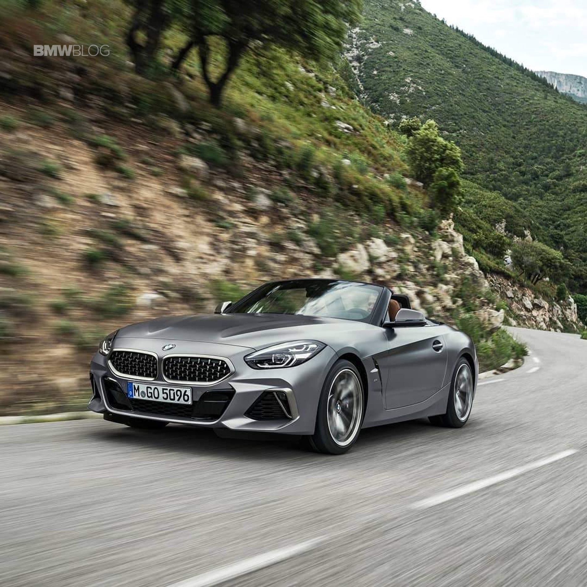 First Official Videos: New BMW Z4 G29 in grey