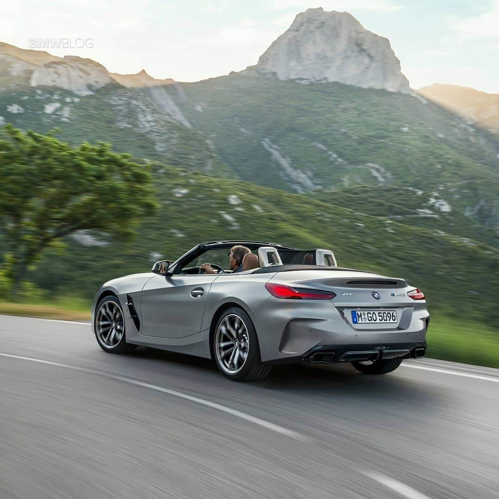 Bmw Z4 Convertible: First Official Videos: New BMW Z4 G29 In Grey