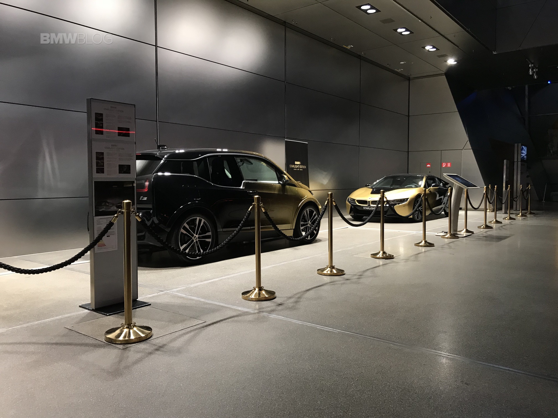 BMW i3S and i8 Starlight Edition1