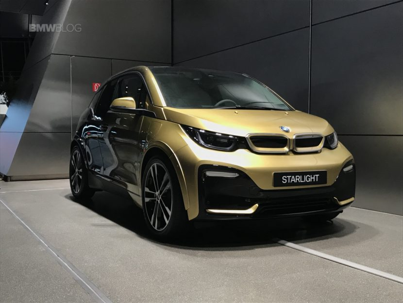 BMW i3S and i8 Starlight Edition5 830x623