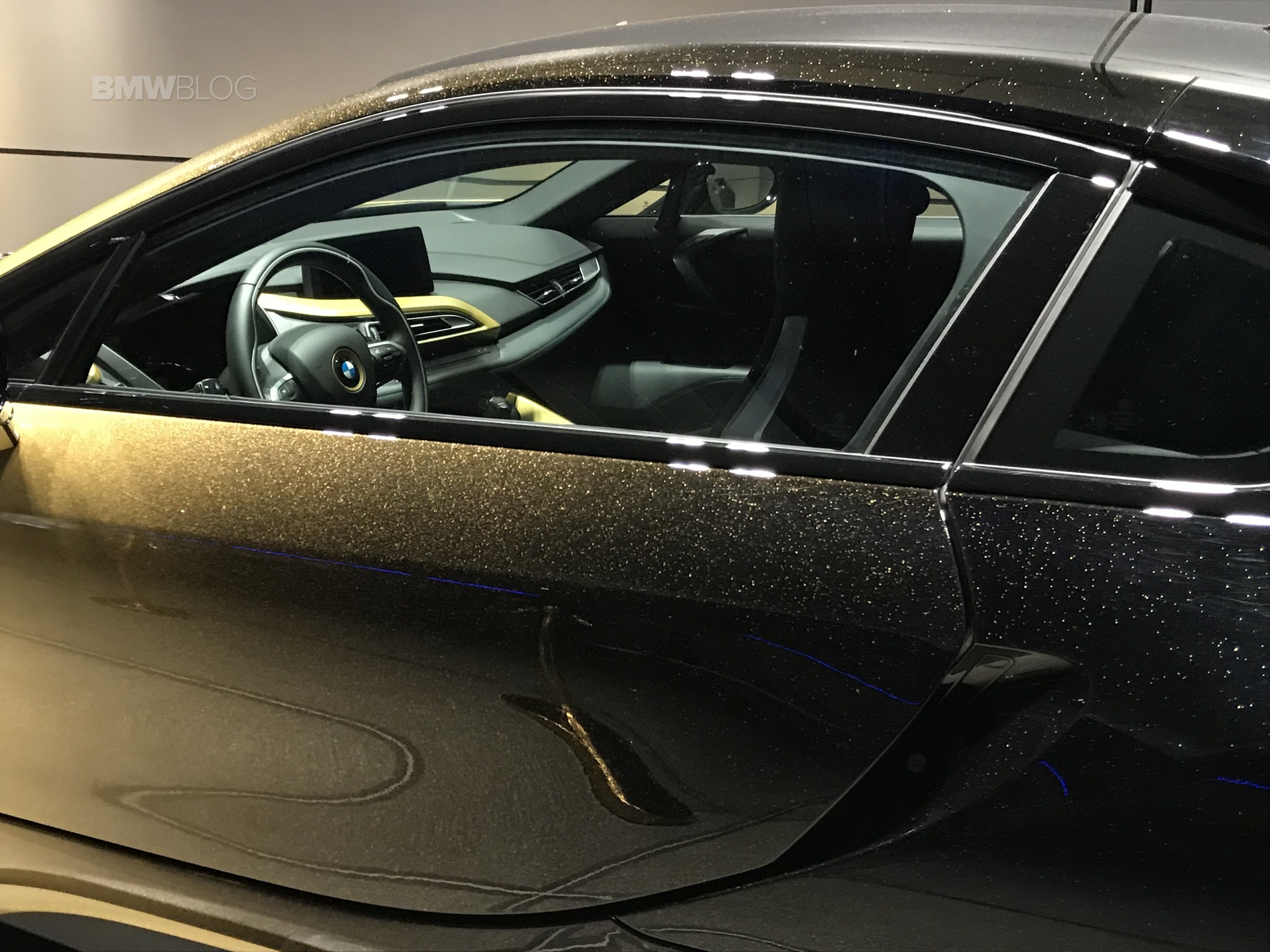Bmw I3s And I8 Starlight Edition Displayed At Bmw Welt