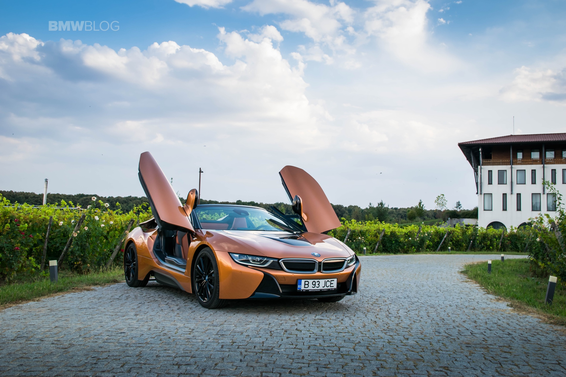 BMW i8 Roadster test drive 2018 50