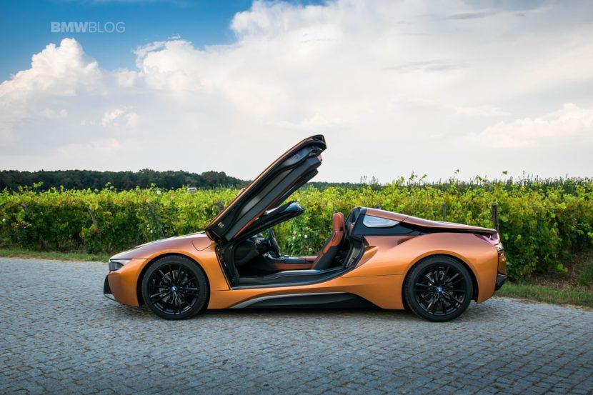 BMW i8 Roadster test drive 2018 54 830x553