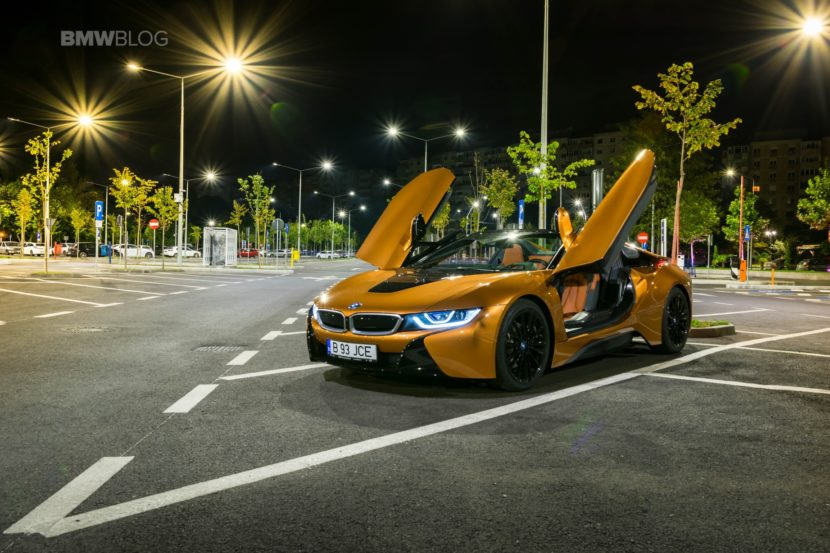 BMW i8 Roadster test drive 2018 60 830x553