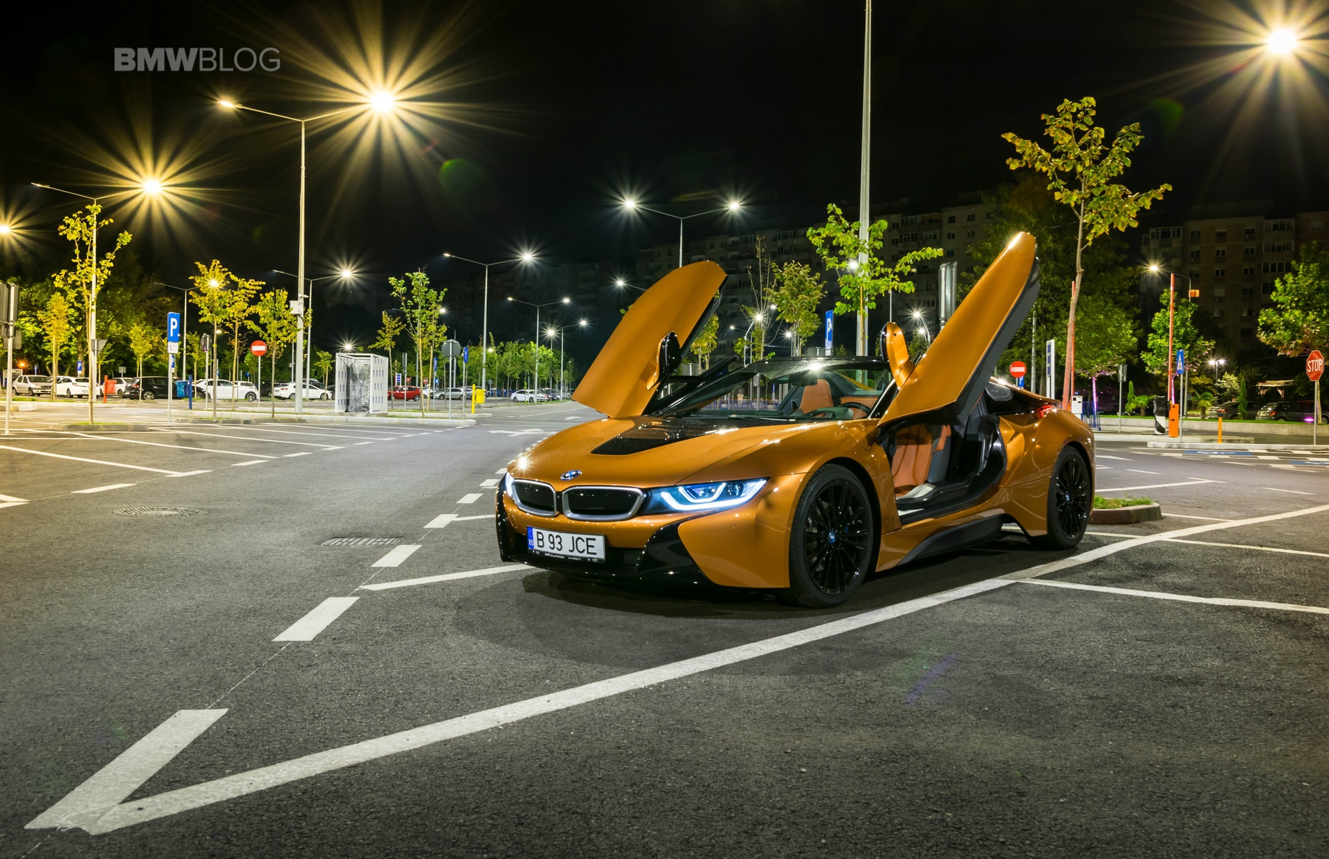 BMW i8 Roadster test drive 2018 60