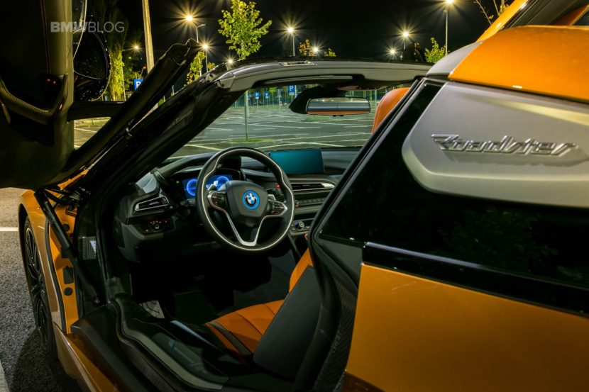 Test Drive Bmw I8 Roadster Review The Superstar Treatment
